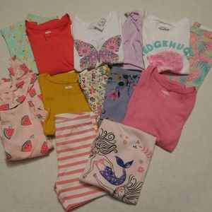 NWT Summer Lot 7 Outfits Tops Shorts Crop Leggings
